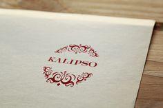 Kalipso identity, design by Hot Snow Design.