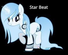 This is star beat...she loves every single thing about music. She is a very good singer and loves to carry around her fav. I pod and blue beat headphones to listen to her fav. Music to where ever she goes! Adopted by Rana Rule
