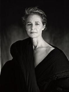 """neotypus: """" Charlotte Rampling by Paolo Roversi Paris, July 2014 """""""