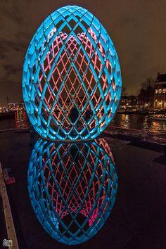 Amsterdam Light Festival druk bezocht