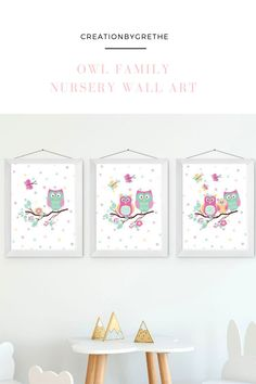 Are you looking for an easy, affordable and convenient way to decorate your child's room then you're in the right place. This colorful owl nursery wall art is the perfect piece that will add the finishing touch to your child's room or nursery. #owlprint #kidsroomdecor #nurserywallart #owlprintablewallart Owl Nursery Decor, Playroom Wall Decor, Floral Nursery, Nursery Prints, Nursery Wall Art, Nursery Ideas, Playroom Printables, Colorful Owl, Minimalist Nursery