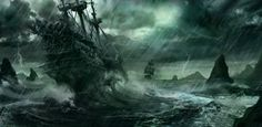 The Flying Dutchman Ghost Story - The year is 1641 and a Dutch galleon has set sail from Amsterdam heading for the port of Batavia in Dutch East India. Read more here - http://realparanormalexperiences.com/the-flying-dutchman-ghost-story