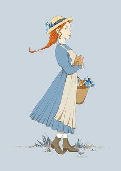 Anne Of Avonlea, Road To Avonlea, Amybeth Mcnulty, Anne With An E, Anne Shirley, Book Nerd, Cute Art, Anne Green, Anime