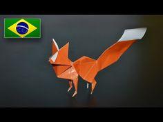 Origami: Raposa (Riccardo Foschi) - Instruções em Português PT-BR