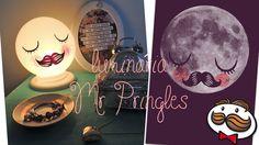 """DIY: Luminária Mr Pringles! """"Für Neil"""" INSPIRED!"""