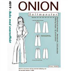 onion 4019, buks med snøreeffekt.