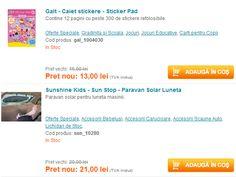Reduceri la produsele pentru copii Sunshine Kids si Galt | Zgarciti.ro - Comunitatea Zgarcitilor din Romania