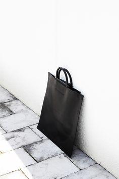 Thin Black Bag