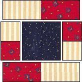 Squares within Squares 2 -- Quilt Block.