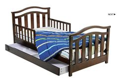 Dream On Me Elora Toddler Bed with Storage Drawer & Reviews | Wayfair