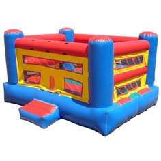 Boxing Ring Inflatable Bounce House