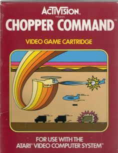 Chopper Command is a video game by Activision released for the Atari 2600 in June 1982. It was designed and programmed by Bob Whitehead.