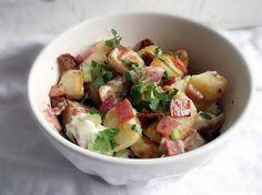 Golden Roast Potato Salad...