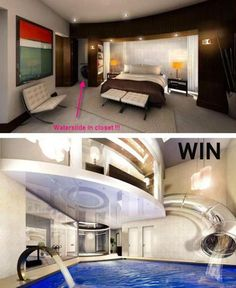I've dreamed about having a room like this since I was a child!