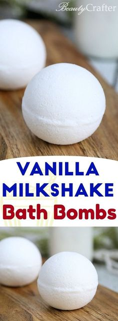 A fun way to enjoy a soothing bath with vanilla milkshake bath bombs. @southtownbeauty https://southtownbeauty.com