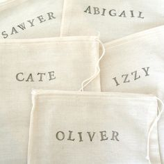 stamped muslin.  Just had to pin this.  Back in the early 80's,my neighbor and I had a business where we make thousands of these bag and sold them to stores across the US.