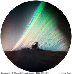 https://flic.kr/p/QHJDRi | Silueta de un toro de osborne #22, solarigrafía. ©Diego López Calvín.| Solarigrafía de una silueta del toro de Osborne #22.Tiempo de exposición: 02 de junio a 29 de diciembre 2016