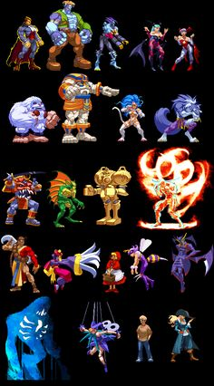 darkstalkers characters - Google Search