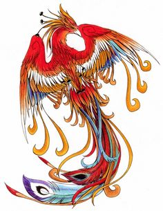 This is moreso the sort of artwork I& like to get back into. Again, friend& phoenix tattoo. I dub it & da Phoenix& Yes, this is temporarily mutilated (cropped). Tattoo Dragon And Phoenix, Phoenix Bird Tattoos, Red Dragon Tattoo, Phoenix Artwork, Phoenix Images, Phoenix Drawing, Phoenix Wallpaper, Phoenix Design, Phoenix Tattoo Design