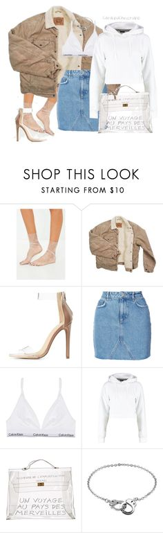 """""""SS: This is a female styling of what I bought for my bf"""" by catalinachristiano ❤ liked on Polyvore featuring Missguided, Levi's, Charlotte Russe, Anine Bing, Boohoo, Hermès, BERRICLE and catalinachristiano"""