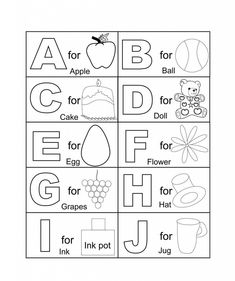 French Alphabet Coloring Pages - Mr Printables | Mr Printables ...