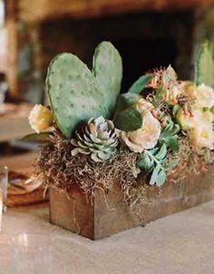 cactus in centerpiece