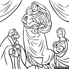 Raffaello Sanzio - The Sistine Madonna