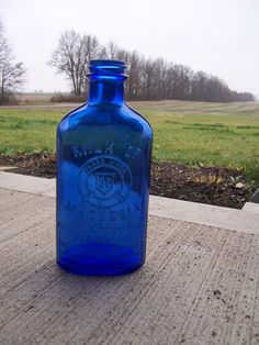Check out this item in my Etsy shop https://www.etsy.com/listing/88294631/antique-cobalt-blue-rare-milk-of