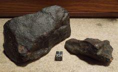 Dar el Kahal meteorites before cutting.