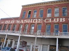 Old Washoe Club in Virginia City, Nevada. Severely haunted. Many interesting things have happened to we Thin Veilers here. One fascinating story is written in my book: Thin Veil Investigations  27 Amazing Ghost Hunts In Northern Nevada.