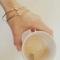 lieve hartjes armbandjes ! via simpleluxury.nl ♡