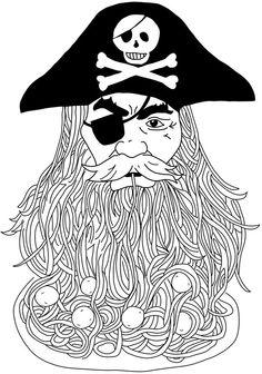 Pastafarian Pirate ~ Flying Spaghetti Monster