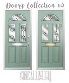 Sims4Luxury: Door Collection 3 • Sims 4 Downloads