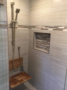 After Photo   Tiled Shower In Bathroom Remodeling Project In Waterford CT  Www.shawremodeling.