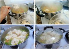 Fluffy Dumplings for Soup or Stew Fluffy Dumpling Recipe, Homemade Dumplings, Dumplings For Soup, Chicken And Dumplings, Easy Chicken Recipes, Soup Recipes, Bread Recipes, Cheese Pasta Bake, Newfoundland Recipes