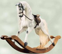 Beautiful traditional rocking horse #Caredotcom  #RoyalNursery