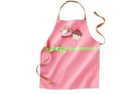 Girls Apron Pink Cupcake Reversible Adjustable Kohls St Nicholas Square NEW Childrens Aprons, Childrens Gifts, Christmas Gifts For Kids, Christmas Holidays, Gingerbread Cupcakes, Sewing Aprons, Kitchen Aprons, Square, Kids Toys