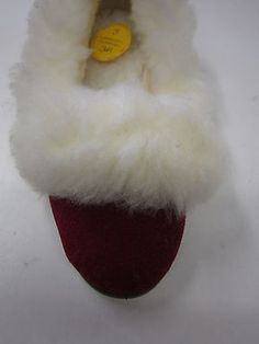 37fb8b0e401c Ladies full fur lined thermal slippers joyce royal red fabric