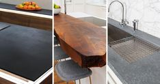 Kitchen Design Idea - 5 Unconventional Materials You Can Use For A Countertop