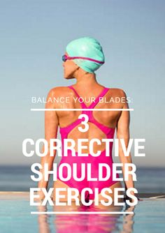 The scapulae and the 17 muscles around them are the foundation of your shoulders and the base of every arm movement. A healthy shoulder blade must be both stable and mobile. Balance Your Blades: 3 Corrective Shoulder Exercises #swim http://www.active.com/triathlon/articles/balance-your-blades-3-corrective-shoulder-exercises-871379?cmp=17N-PB33-S33-T9-D1--57