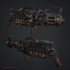 ArtStation - Lightning Gun, Hisae 'Jo' Watanabe
