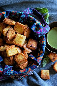 Home-made croutons m