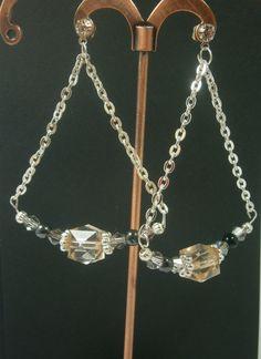 Pendenti - Orecchini pendenti a goccia eleganti - un prodotto unico di 3lektra su DaWanda