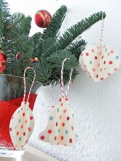 FREE Studio cut file Christmas tree decorations bauble heart bell