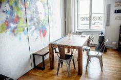 Nad genialitou, kreativitou a poctivou prací studentů bdí sám Einstein v Technické místnosti. #Unifer #office #kancelar