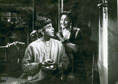 Dilip Kumar and Vyjayanthimala.