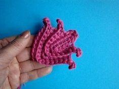 Как вязать листик - ирландское кружево Урок 300 Irish lace How to knit c...