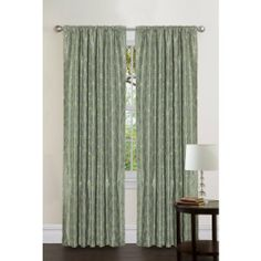 Lush Decor Angelica Panel, 95-Inch by 54-Inch, Sea Green by Lush Decor. Save 6 Off!. $47.02. Dry clean. 95-Inch long by 54-inch wide. 100-Percent polyester. Includes: 1 panel. All over cord embroidery with sequins. Rod pocket slides onto curtain rod for installation. Triangle Home Fashions is a dynamic organization, managed by determined professionals to carve a niche for itself in the home fashions industry. When it comes to your home fashion products needs-leave everything to us-we wil...