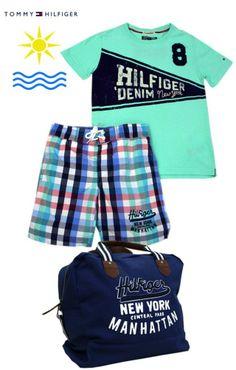 baño tommy hilfiger niño niñas kids 2 Tommy Hilfiger, Lil Boy, Boy Fashion, Toddler Boys, Trunks, Swimwear, Clothes, Fashion For Girls, Spring Summer