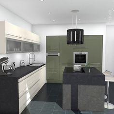 Color of the Day {Eclipse | Modern kitchen designs, Kitchen design ...